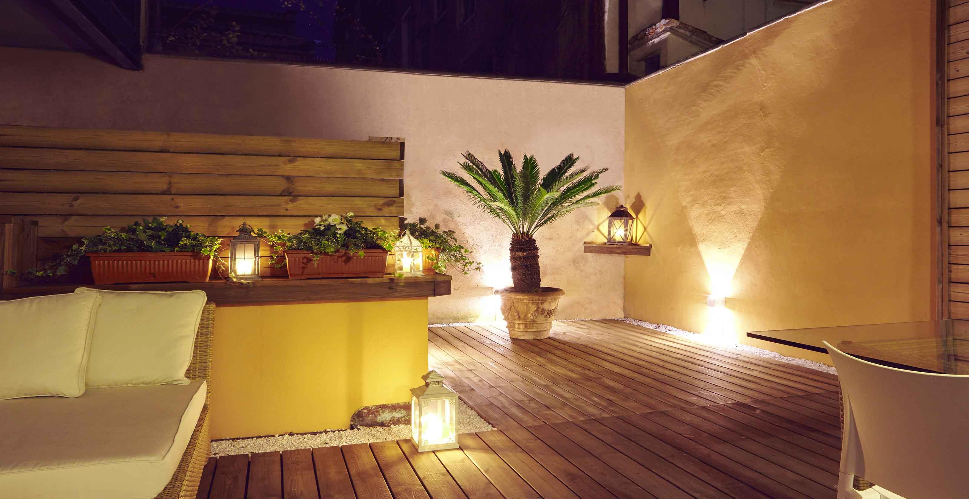 DELUXE SUITE WITH EXCLUSIVE TERRACE 602 - Paruta House Suites Apartments